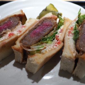 【京都グルメ】肉専科はふうの、ビフカツサンド。