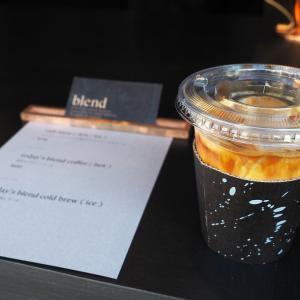【珈琲】烏丸丸太町に新しくできた珈琲店「blend kyoto」。