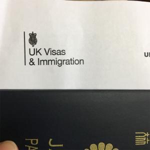 ビザが届きました。
