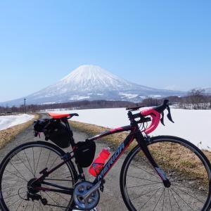 冠雪の羊蹄山を激写せよ! 中山峠を越えての喜茂別・京極