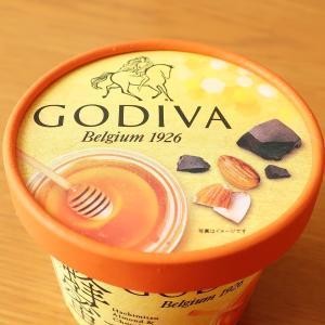 GODIVA 蜂蜜アーモンドとチョコレートソース