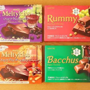 お酒の入ったチョコレート