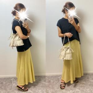 【しまむら】幼稚園児に褒められる涼しく履けるロングスカート!