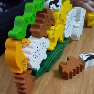 4歳児におすすめのゲーム「ワニに乗る?」