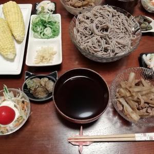 ごぼう牛なおつゆで食べるお蕎麦