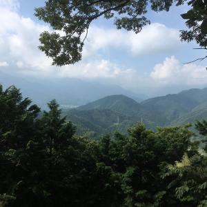夏休みに峰山ハイキング