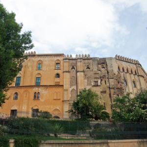 ノルマン宮殿(王宮)とパラティーナ礼拝堂(パレルモ/シチリア島/イタリア)