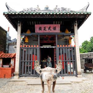 ナーチャ廟、旧城壁(マカオ)〈マカオ歴史市街地区〉