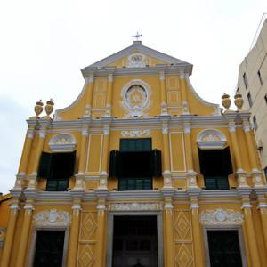 聖ドミニコ教会(マカオ)〈マカオ歴史市街地区〉