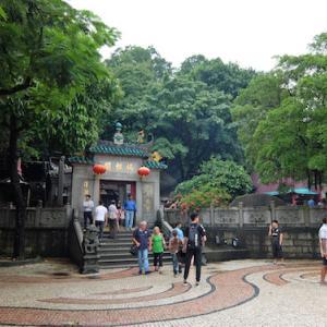 媽閣廟、バラ広場(マカオ)〈マカオ歴史市街地区〉