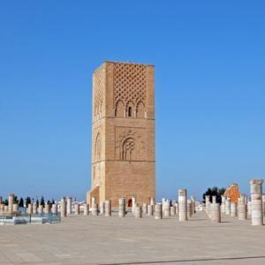 ハッサンの塔(モロッコ)〈近代的首都と歴史都市が共存する首都ラバト〉