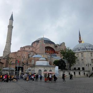 アヤソフィア(イスタンブール/トルコ)〈イスタンブール歴史地区〉