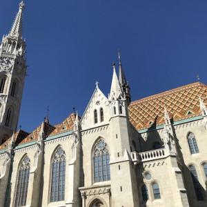 マーチャーシュ聖堂(ブダペスト/ハンガリー) 〈ブダペストのドナウ河岸とブダ城〉