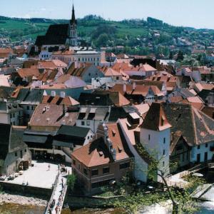 チェスキー・クルムロフ歴史地区(チェコ)