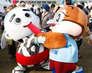 ゆるキャラグランプリ決勝大会スタート♪