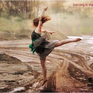 「雨の中でダンス!」