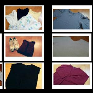購入した服と手放した服の数☆