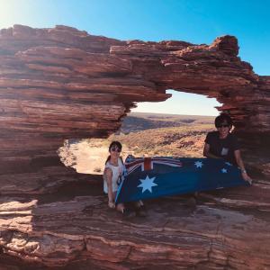 【オーストラリアラウンド2日目】西オーストラリアの自然を堪能!絶景、世界遺産、シェルビーチ!