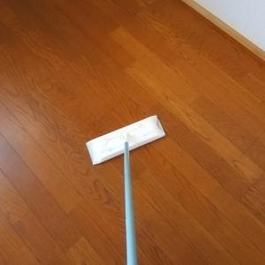 【快感・・・!】何もない部屋のお掃除は、カンタンすぎて感動ものです