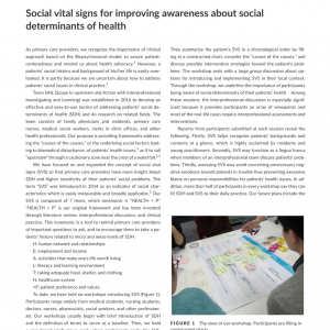 JGFMのLETTER TO THE EDITOR に「Social Vital Signs」が掲載されました!