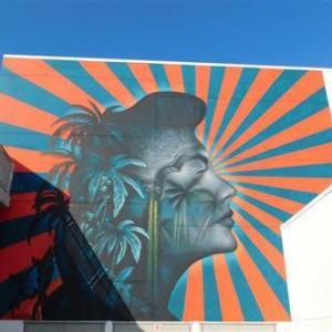 LAのコリアタウンの学校で壁画撤去中止