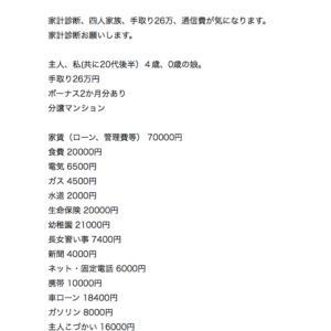 食費2万円問題に物申す!!