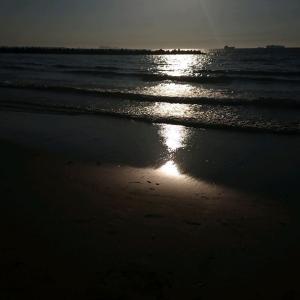 夕方の海&土用の丑の日・・・