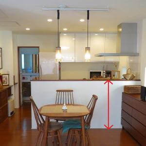 【後悔ポイント】キッチンにおける手元を隠す壁の高さについて