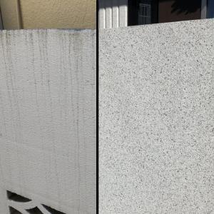 30年耐用ヘーベルハウスオリジナル外壁塗装vs通常塗装の比較画像