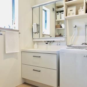 【web内覧】普通の空間を極力かわいらしく…頑張ってみた洗面所