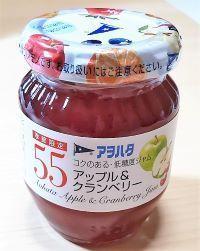 アヲハタジャム☆季節限定☆アップル&クランベリーが新発売☆超かんたんレシピ
