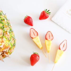 フルーツで楽しむフルーツデコレーション 〜キャンドル〜