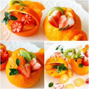 ☆柑橘類で可愛いバスケット!〜カッティングクラス