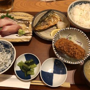 豊洲場外食堂魚金(居酒屋/豊洲)いまなら200円OFF 充実した内容の魚金の幕の内定食