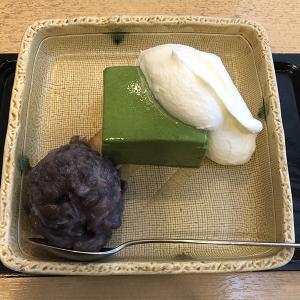 紀の善(甘味処/飯田橋)オリジナリティが高い抹茶ババロア
