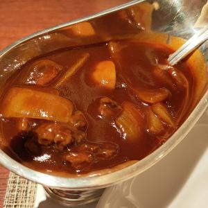 南蛮 銀圓亭(洋食/銀座) 赤ワインの酸味がほどよく効いたハヤシライス