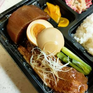 ふじむら(日本料理/築地)トロトロに柔らかい豚の角煮弁当