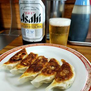 亀戸餃子(餃子/錦糸町)やっぱりビールがなくっちゃ♪