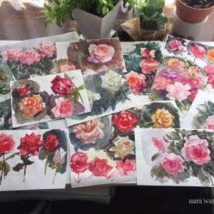 花を描くなら、地道な練習が必要