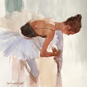 ダンサーのドローイング