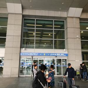 2019秋 ソウル&水原へGO!。仁川空港に着き、空港リムジンチケットを買う。