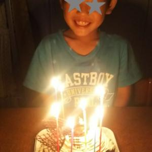 息子の誕生日。