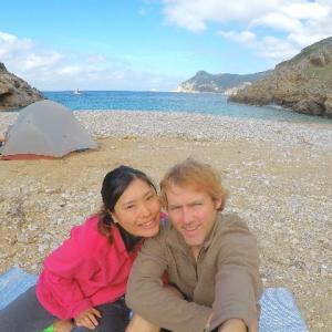ギリシャのキャンプ事情、キャンプ飯。。~ケルキラ島~