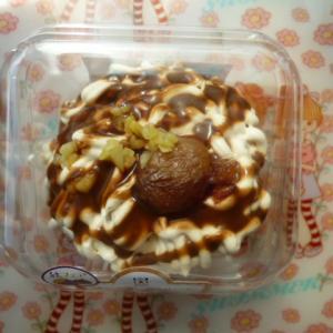 ローソン モンブランのクリームパンケーキ