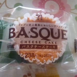 セブンイレブン バスクチーズケーキ