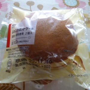 ローソン ふわふわホットケーキ 国産小麦粉使用 2個入