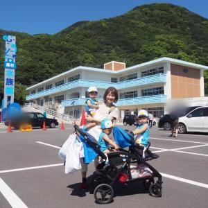 【三つ子と旅行】大人気の!むろと廃校水族館へ