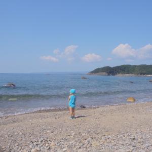 【三つ子と週末】10月やのに海へ行く(笑)