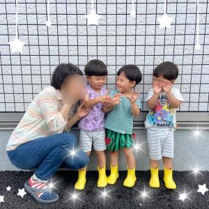 【三つ子のレイングッズ】そして予想通りの行動_:(´ω`」 ∠):_