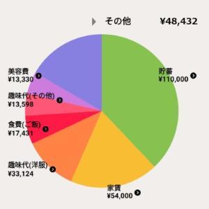 2020年6月家計簿【一人暮らし】